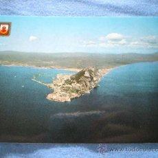 Postales: POSTAL CAMPO DE GIBRALTAR VISTA AEREA DEL PEÑON NO CIRCULADA. Lote 157263026