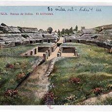 Cartoline: SEVILLA. RUINAS DE ITALICA. EL ANFITEATRO. C.R.S. SIN CIRCULAR. Lote 15703691