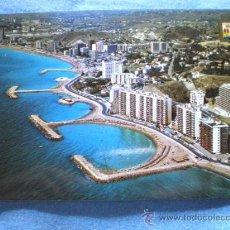 Postales: POSTAL FUENGIROLA VISTA PARCIAL AEREA CIRCULADA. Lote 15729075