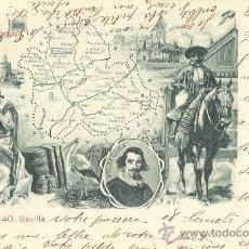 Postales: SEVILLA. CIRCULADA EN FRANCIA EN 1904.. Lote 26764887