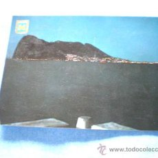 Postales: POSTAL CADIZ LA LINEA VISTA NOCTURNA PEÑON GIBRALTAR ESCRITA. Lote 15936064