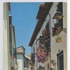 Postales: TARJETA POSTAL DE ALBAICIN CALLE ALMONA GRANADA. Lote 16157842