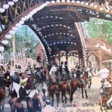 Postales: SEVILLA: FERIA. BAJO LA PASADERA. PURGER & CO. COLECCIÓN TOMÁS SANZ. ANTERIOR A 1906. Lote 195763872