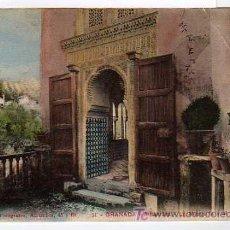 Postales: GRANADA N.11 ALHAMBRA. MEZQUITA Y GENERALIFE. SEÑAN Y GONZALEZ. Lote 17389635