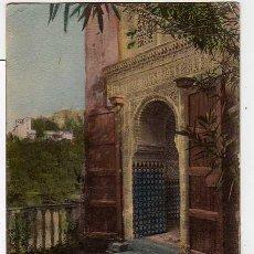 Postales: GRANADA N.10 ALHAMBRA. MEZQUITA Y GENERALIFE. SEÑAN Y GONZALEZ. Lote 16186391