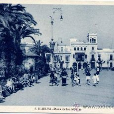 Postales: HUELVA.-PLAZA DE LAS MONJAS. Lote 16398019