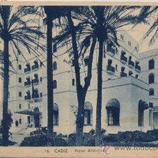 Postales: CÁDIZ.-HOTEL ATLÁNTICO. Lote 16399580