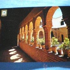 Postales: POSTAL HUELVA MONASTERIO DE LA RABIDA PATIO MUDEJAR SIGLO XV NO CIRCULADA. Lote 16464859