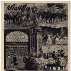 Postales: PRECIOSA POSTAL - SEVILLA - FIESTAS PRIMAVERALES . Lote 16622945