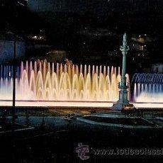 Postales: GRANADA - FUENTE MONUMENTAL DEL TRIUNFO (NOCTURNA). Lote 16718076