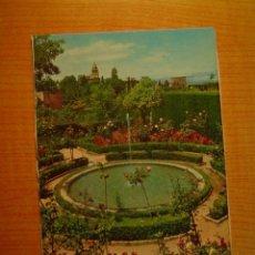 Postales: POSTAL GRANADA GENERALIFE DETALLE JARDINES BAJOS SIN CIRCULAR. Lote 16798486