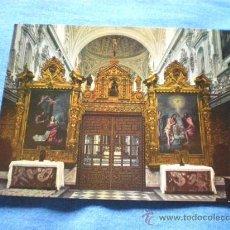 Postales: POSTAL GRANADA LA CARTUJA CORO DE NOVICIOS NO CIRCULADA. Lote 18403615
