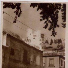 Postales: GRANADA.-MUSEO DE RODRIGUEZ ACOSTA DESDE EL REALEJO. Lote 17336637