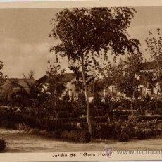 Postales: MARMOLEJO(JAÉN).-JARDIN DEL GRAN HOTEL. Lote 17338364