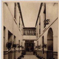 Postales: MARMOLEJO(JAÉN).- HOTEL DE LOS LEONES(PATIO ANDALUZ). Lote 118448055