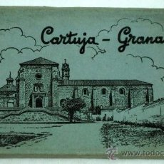 Postales: 10 POSTALES CARTUJA GRANADA EN ACORDEÓN DESPLEGABLE ED GARCÍA GARRABELLA AÑOS 50. Lote 17724098