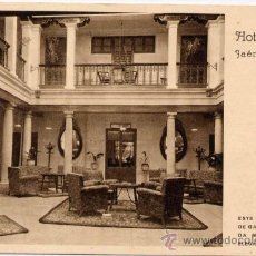 Postales: JAÉN.-HOTEL ROSARIO. Lote 17888950
