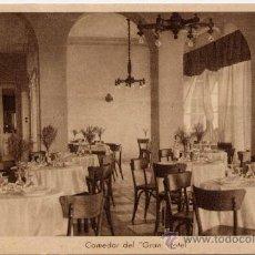 Postales: MARMOLEJO(JAÉN).- COMEDOR DEL GRAN HOTEL. Lote 17889064