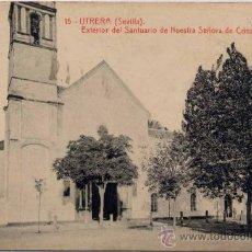 Postales: UTRERA(SEVILLA).-EXTERIOR DEL SANTUARIO DE NUESTRA SEÑORA DE LA CONSOLACIÓN. Lote 18149927
