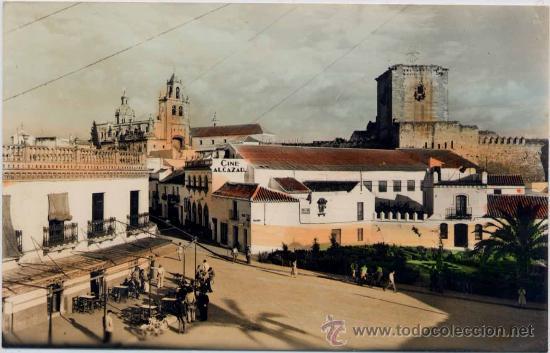 UTRERA(SEVILLA).-PLAZA DE SANTA ANA Y VISTA PARCIAL (Postales - España - Andalucia Moderna (desde 1.940))
