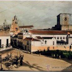 Postales: UTRERA(SEVILLA).-PLAZA DE SANTA ANA Y VISTA PARCIAL. Lote 18149985