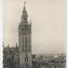 Postales: SEVILLA.- LA GIRALDA DESDE LA CALLE MATEOS GAGOS.. Lote 18454842