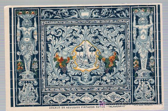 Sevilla triana z calo de azulejos pintados es comprar - Zocalos de azulejos ...