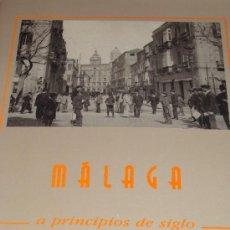 Postales: LIBRO CON 32 POSTALES DE MÁLAGA DE PRIMEROS DE SIGLO. CALLE LARIOS, ALAMEDA, GIBRALFARO CORREOS . Lote 18689834