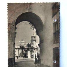 Postales: CADIZ / ARCO DE LA ROSA / ED.GARCIA GARRABELLA Nº 9 / AÑOS 40. Lote 18689331