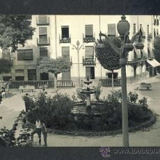 Postales: POSTAL DE BAZA (GRANADA): PLAZA MAYOR (DISTRIB.LIBR.CERVANTES NUM.8). Lote 263792030