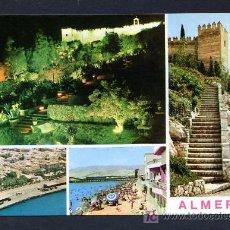 Postales: ALMERIA. ED. ARRIBAS 2050, DORSO CON ESCUDO. NUEVA. Lote 18825411