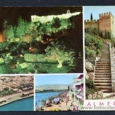 Postales: ALMERIA. ED. ARRIBAS 2050, DORSO CON ESCUDO. CIRCULADA 1971. Lote 18825427