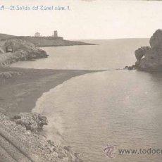 Postales: MÁLAGA.-SALIDA DEL TUNEL NUM 1. Lote 18888302