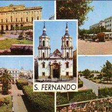 Postales: SAN FERNANDO (CADIZ) - VISTAS - ED. ARRIBAS 1965. Lote 19018440