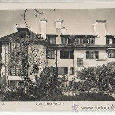 Postales: TARJETA POSTAL DE RONDA HOTEL REINA VICTORIA MALAGA. Lote 18953245