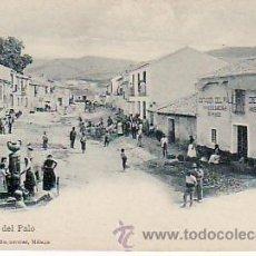 Postales: MALAGA.PLAZA DEL PALO.NO DIVIDIDA.CURIOSA POSTAL MUY ANIMADA.. Lote 26898392