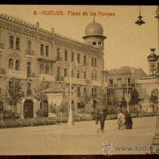 Postales: ANTIGUA POSTAL DE HUELVA - PLAZA DE LAS MONJAS - N. 8 - ED. PAPELERIA M. MORA Y COMP. - NO CIRCULADA. Lote 19019721