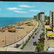Postales: 1382.- FUENGIROLA. PLAYA Y PASEO MARÍTIMO. Lote 19036429