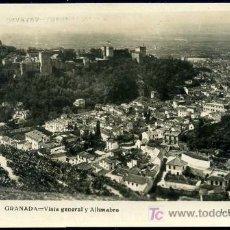 Postales: GRANADA : L.ROISIN Nº 213 - VISTA GENERAL Y ALHAMBRA. . Lote 19114585