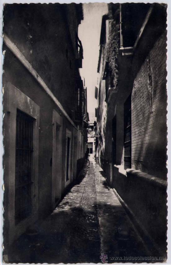 SEVILLA.-CALLE DE JUSTINO DE NEVES (Postales - España - Andalucia Moderna (desde 1.940))