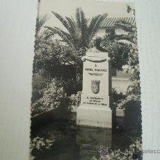 Postales: CORDOBA - MONUMENTO A MANOLETE EN LA PLAZA LAGUNILLA - AÑOS 50/60. Lote 24204280