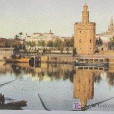 Postales: SEVILLA.- LA TORRE DEL ORO.. Lote 19234189