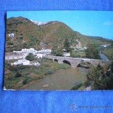 Postales: POSTAL CADIZ VEJER DE LA FRONTERA BARCA DE VEJER Y AL FONDO EL PUEBLO CIRCULADA. Lote 19262643