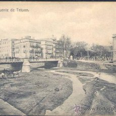 Postales: MÁLAGA.- PUENTE DE TETUÁN. Lote 19278583