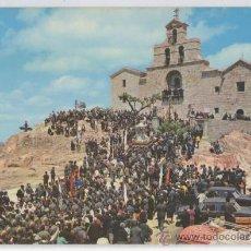 Postales: TARJETA POSTAL DE ANDUJAR SANTUARIO DE NTRA. SRA. DE LA CABEZA PROCESION ROMERIA GUARDIA CIVIL JAEN. Lote 19591992