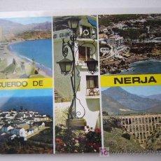 Postales: NERJA. ESCUDO DE ORO. Lote 19598922