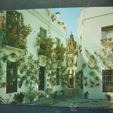 Postales: 3972 ESPAÑA SPAIN ANDALUCIA CORDOBA CALLEJA Y PLAZA DE LAS FLORES AÑOS 60/70 - TENGO MAS POSTALES. Lote 19838019