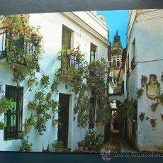 Postales: 4281 ESPAÑA SPAIN ANDALUCIA CORDOBA CALLEJA DE LAS FLORES AÑOS 70 ESCRITA - TENGO MAS POSTALES. Lote 20211175
