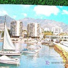 Postales: MALAGA-COSTA DEL SOL-AÑOS 60-MARBELLA. Lote 20616296