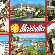Postales: MARBELLA (COSTA DEL SOL) - DIVERSOS ASPECTOS. Lote 20386539